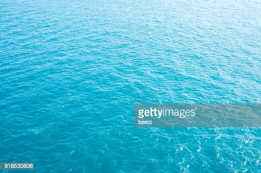 blue sea wave texture in the ocean : Stock Photo