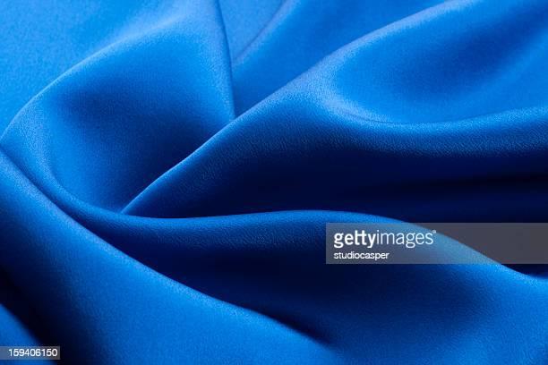 Blue silk (Close up)