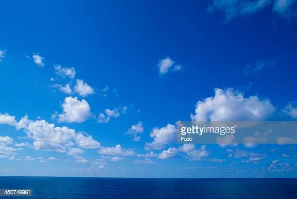 Blue Skies and Ocean