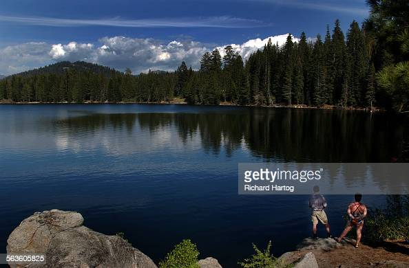 Lago huntington imagens e fotografias de stock getty images for Huntington lake fishing