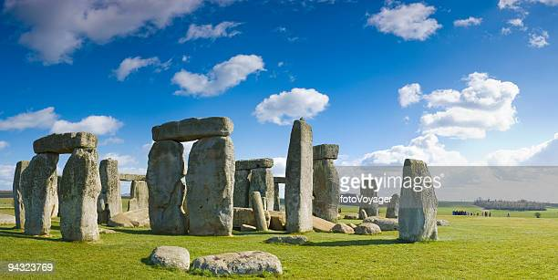 Blue skies over Stonehenge
