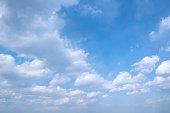 Blue, Sky, Cloud, Cloudscape, High Angle View