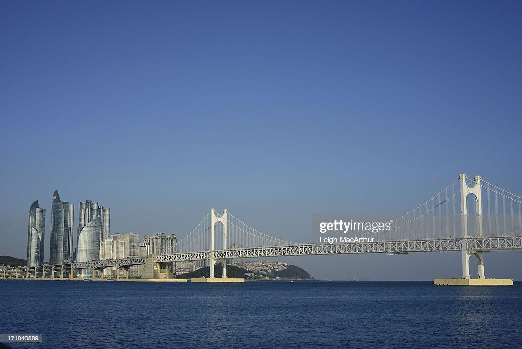 Blue Sky Over Busan