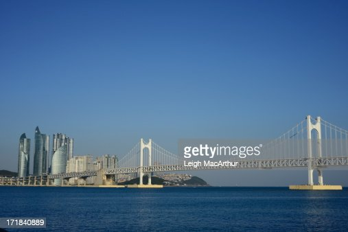 Blue Sky Over Busan