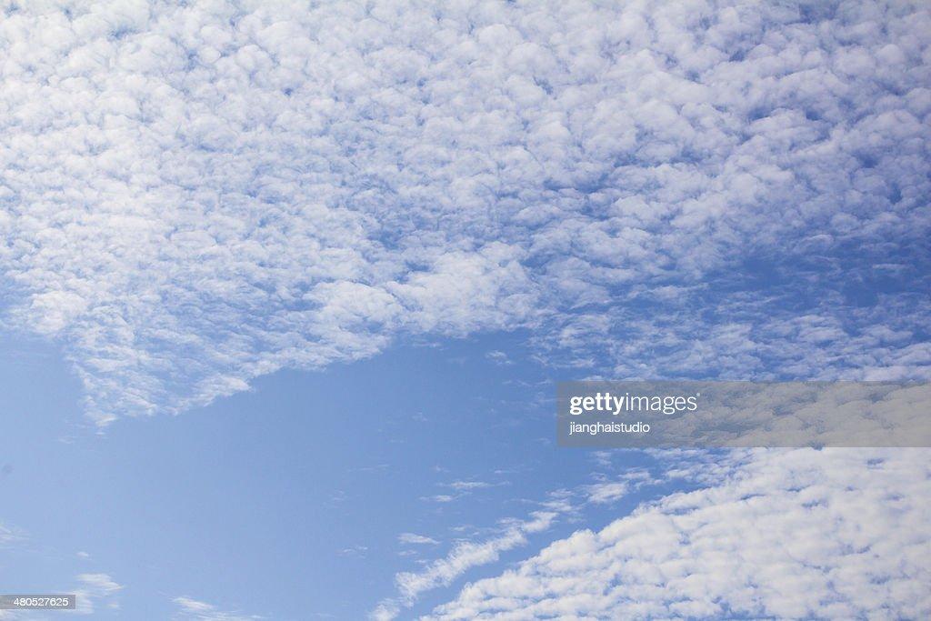 Blue sky : Stock Photo