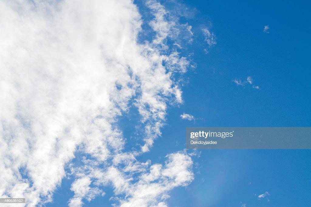 blue sky : Stockfoto