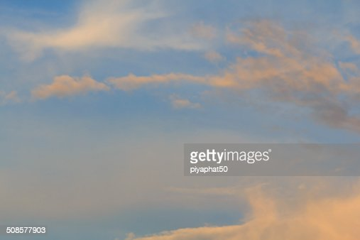 Blue sky : Stock Photo