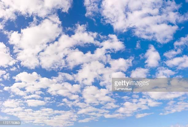 Cielo blu con nuvole bianche XXL - 133 Megapixel