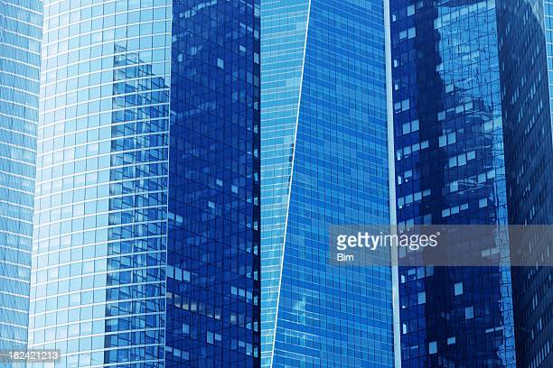 Blue Skyscrapers