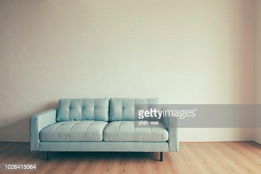 Blue Sofa Background Stock Photo Thinkstock