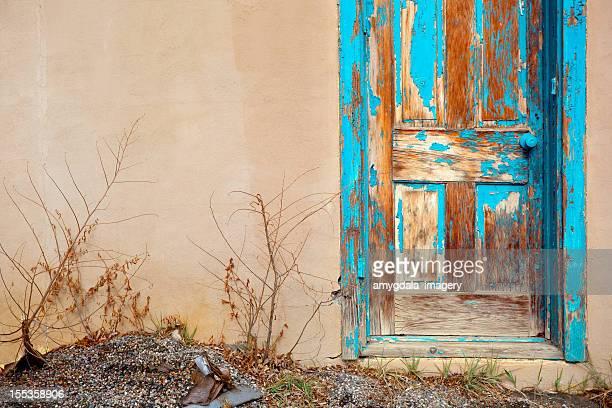 blue southwest door