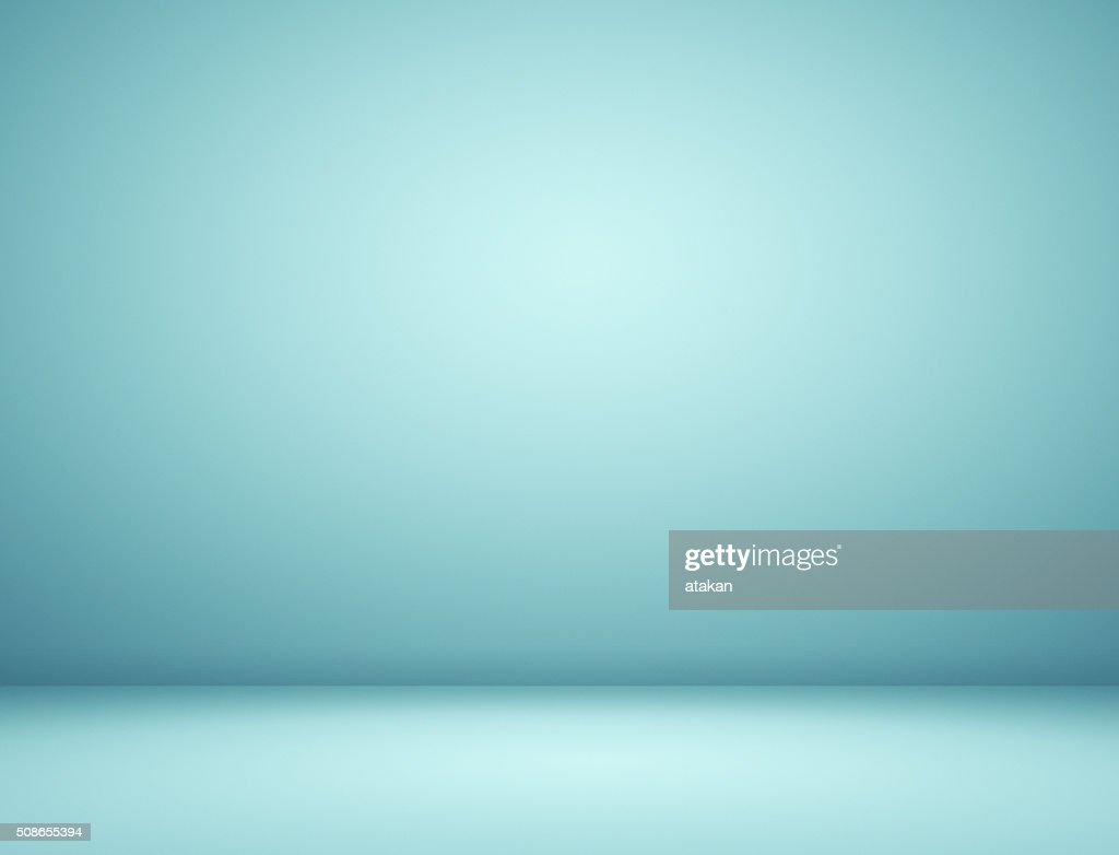 Blue spotlight background : Stock Photo