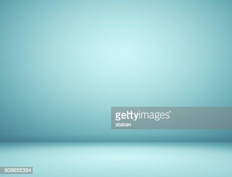 Blue spotlight background : Stock Photo