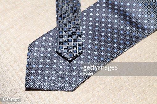 Blue Square Tie : Foto de stock
