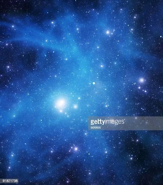 Blaue starfield