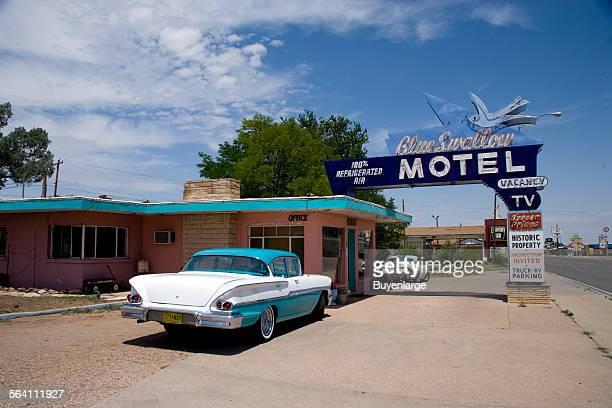Blue Swallow Motel Route 66 Tucumcari New Mexico