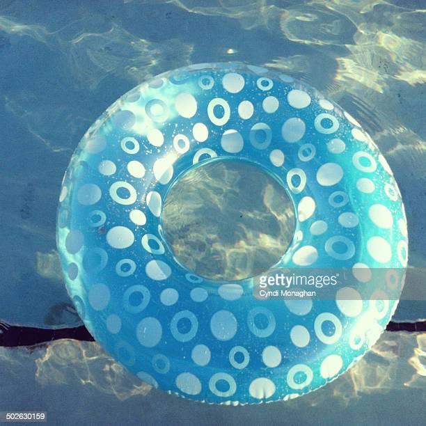 Blue Swim Tube