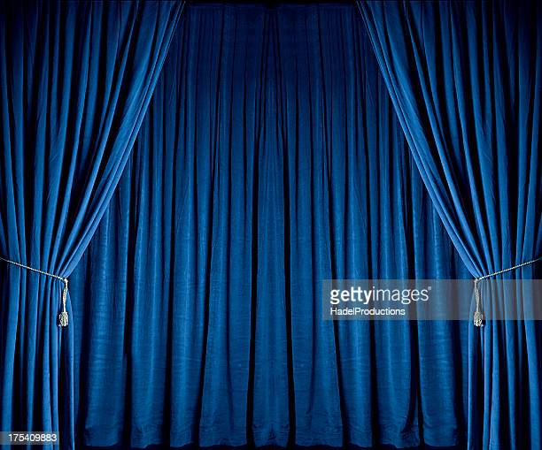 Blue Theatre Drapes