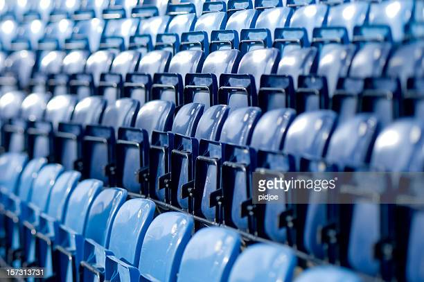 blue tip-Plätze im baseball-Stadion