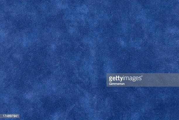 Velours bleu