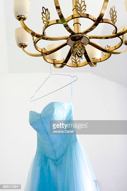 Blue Vintage Bridesmaid Dress