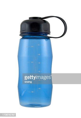 Blue Water Bottle