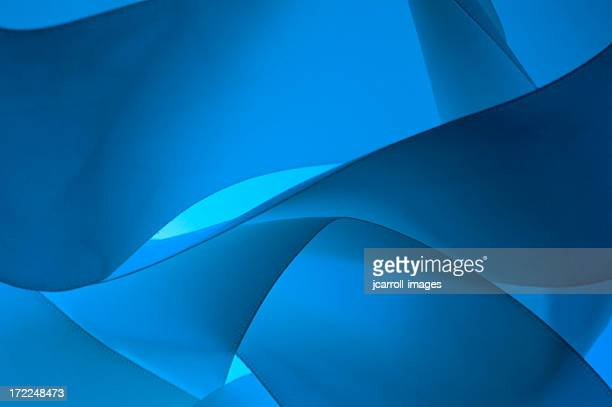 Blue waves abstract background 2