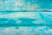 Blue weathered wooden wall texture. Architectutral background.
