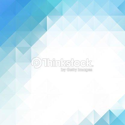 Sfondo Di Mosaico Blu E Bianco Brillante Modelli Di Progettazione