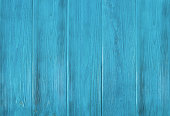 Old, weathered blue wooden background, texture with copy space
