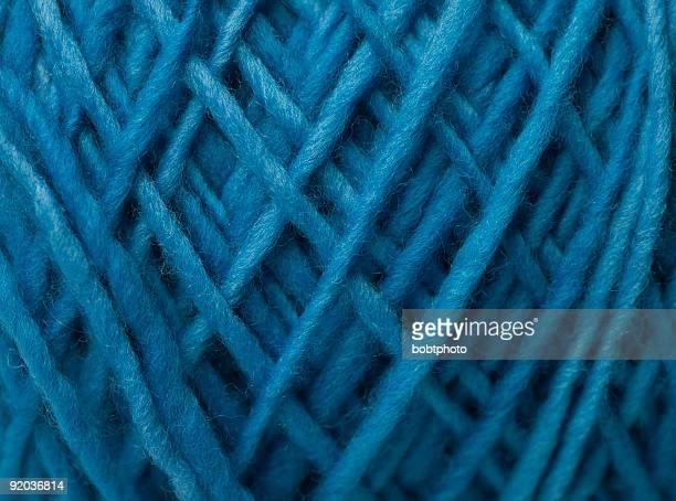 Blue Wool Yarn