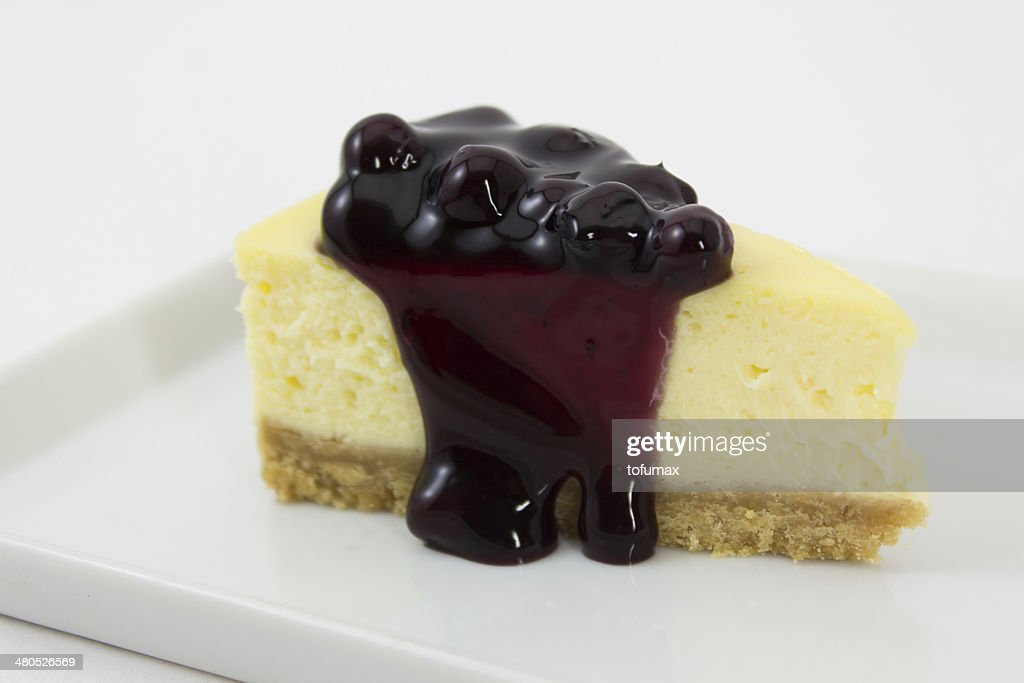 Blueberry cheesecake : Stockfoto