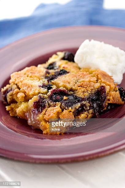 Blueberry Lemon Dumpcake