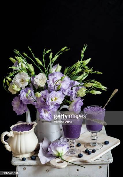 blueberry milk shake