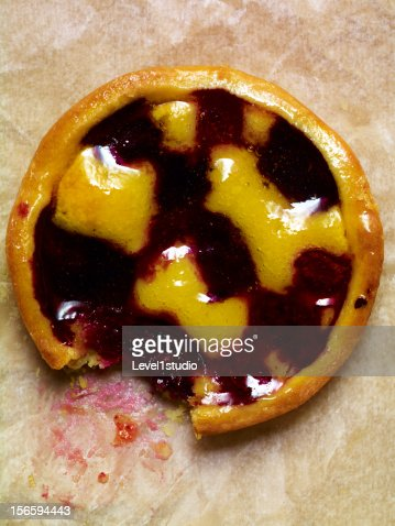 Blueberry pie : Bildbanksbilder