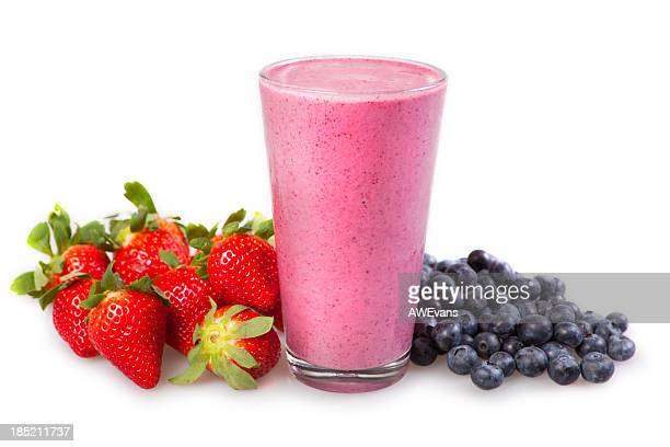 Blueberry, Strawberry Smoothie
