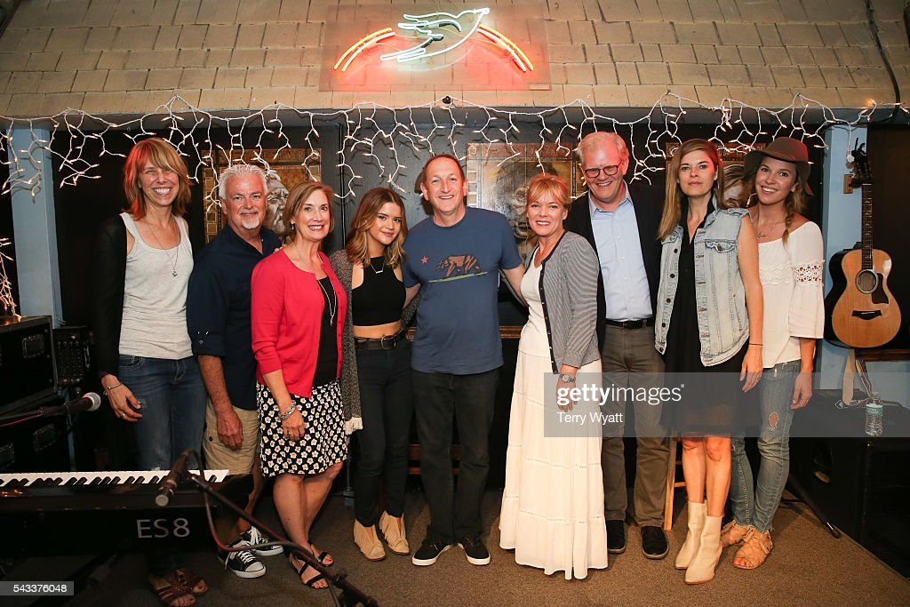 Bluebird Cafe's Erika Wollam,ACM Parliamentarian Paul Moore,Beth Moore,Maren Morris,ACM Lifting Lives President Ed Warm,ACM SVP Teresa George,Stuart Dill,Red Light Management's Janet Weir and Sony Music's Mary Catherine Kinney attend the ACM Lifting Lives Music Camp at the Bluebird Cafe on June 27, 2016 in Nashville, Tennessee.