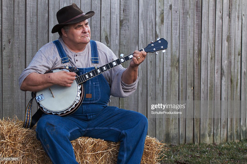Bluegrass Banjo Man