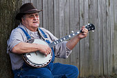 Bluegrass Banjo Man