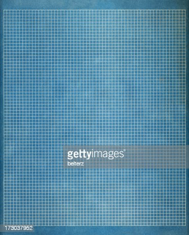 Blueprint graph paper stock photo getty images blueprint graph paper stock photo malvernweather Choice Image