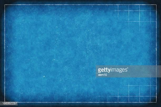 blueprint grid Papier