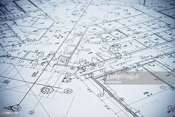 Blueprint-getönt.