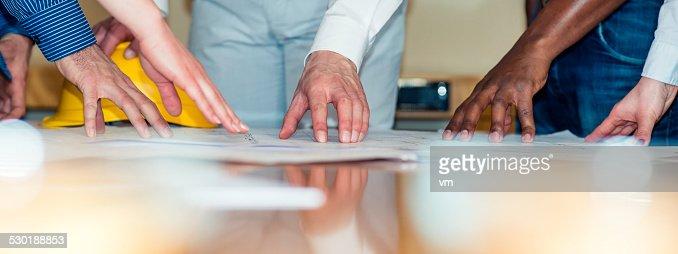 Blueprints and Hands