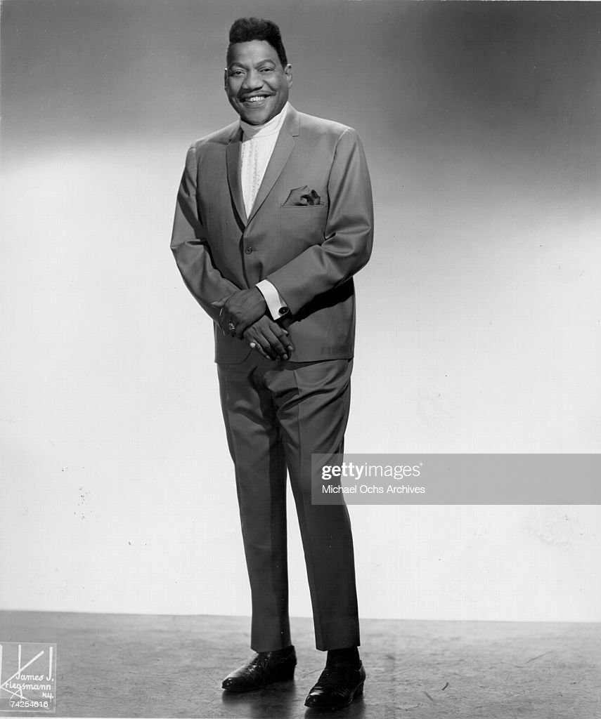 Blues and soul singer Bobby 'Blue' Bland poses for a publicity photo circa 1965 in New York City New York