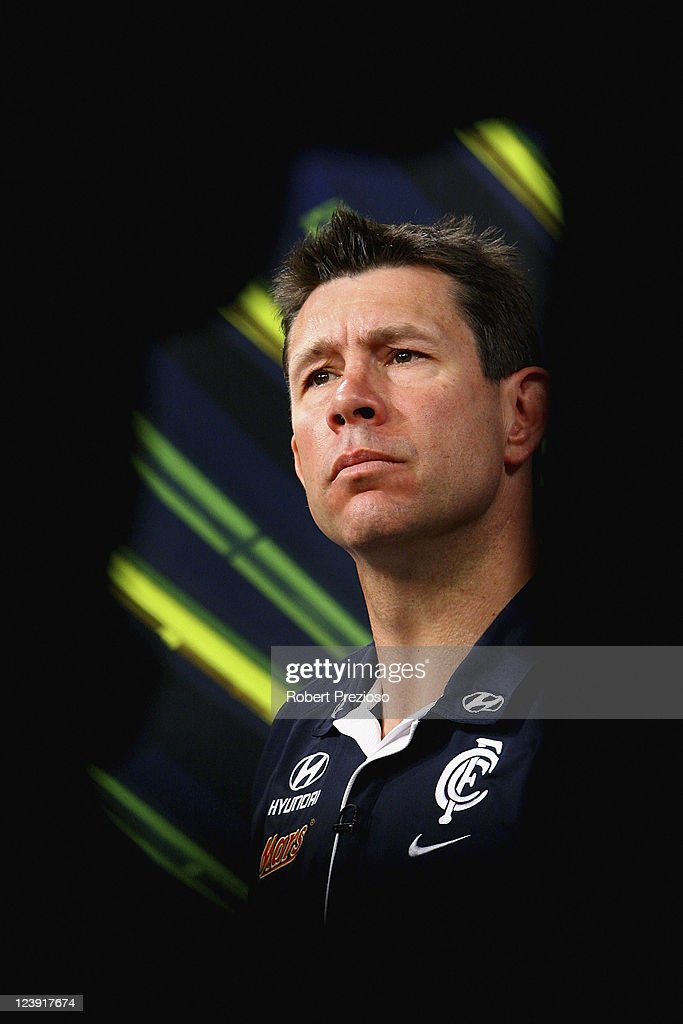 Carlton Blues Press Conference