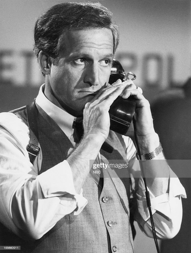 BLUES --'Blues in the Night' Episode 601 -- Pictured: Daniel J. Travanti as Captain Frank Furillo --