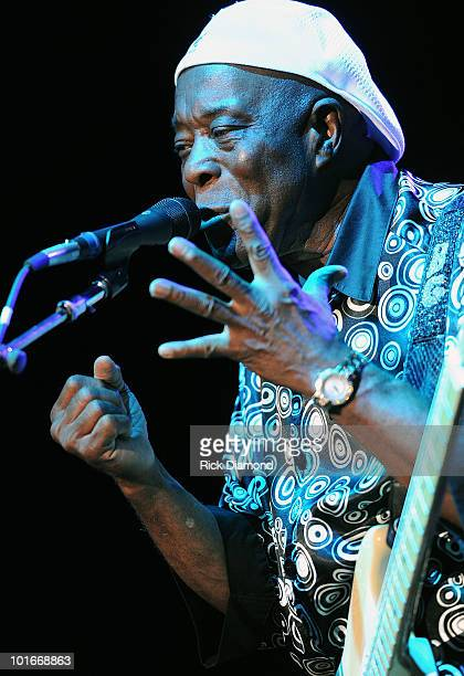 Blues Legend Buddy Guy performs during the 2010 BamaJam Music Arts Festival at the corner of Hwy 167 and County Road 156 on June 5 2010 in Enterprise...