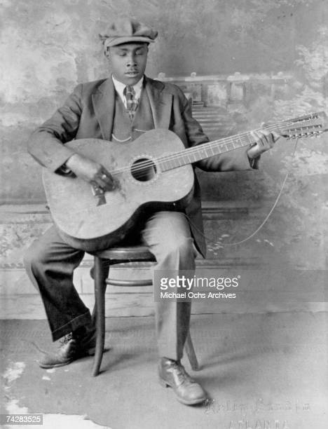 Blues musician Blind Willie McTell poses for a portrait circa 1930 in Atlanta Georgia