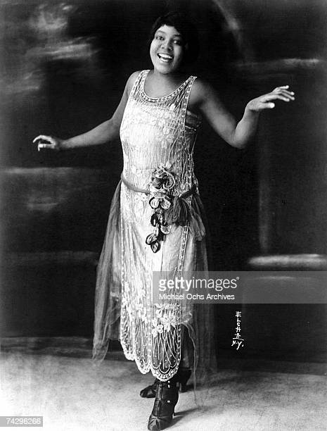 Blues singer Bessie Smith poses for a portrait circa 1925 in New York City New York