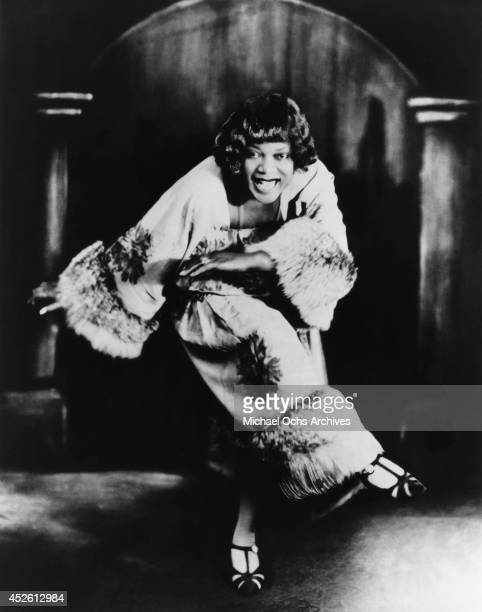Blues singer Bessie Smith poses for a portrait circa 1924